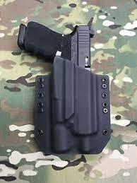 surefire light for glock 23 black kydex light holster glock 19 23 32 threaded barrel surefire