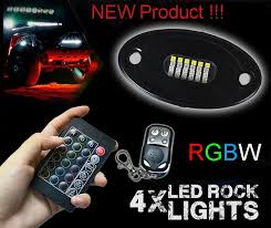 Color Interior Lights For Cars 8 Pcs Waterproof Ip68 Rgb Led Color Changing Rock Lights Mini