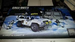 call of duty jeep call of duty mega bloks arctic invasion 06879 collector series set