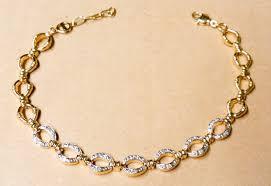 gold plated sterling silver bracelet images 18k gold plated sterling silver diamond oval link bracelet jpg