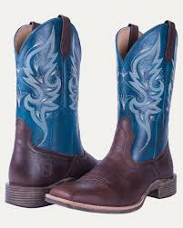 womens boots blue all around boots noble outfitters