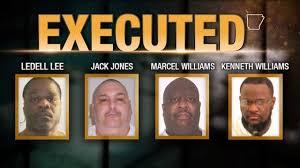 arkansas execution ar executions finalized 4 inmates dead in 8 days kark
