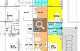 Single Storey Floor Plans Single Storey Terrace House Floor Plan House Plans