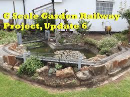 g scale garden railway project update 6 youtube