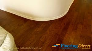 flooring direct uses shoe molding for perfectly smooth
