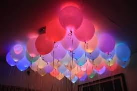glow in the balloons glowing l e d balloons 10pcs
