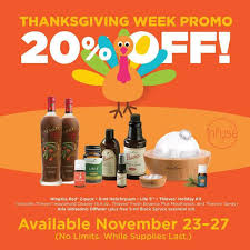 thanksgiving week deals on essential oils odds
