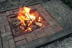 Brick Fire Pits by Backyard Landscaping Design Ideas Fresh Modern And Rustic Fire Pit