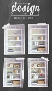 caitlin wilson cw design 101 lesson 5 shelf styling