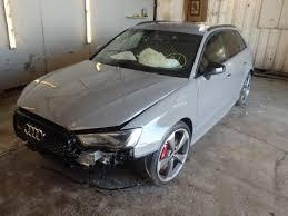 damaged audi for sale 2015 audi rs3 quattr for sale at copart uk salvage car auctions