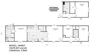 one bedroom mobile home floor plans 2446dt nopics house plan single wide floorplans mccants mobile