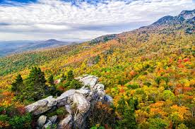 autumn colors blue ridge parkway stock photo image 43730497