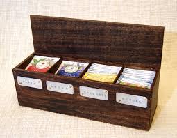 tea gift sets tea box tea chest wooden tea box tea storage tea bag box