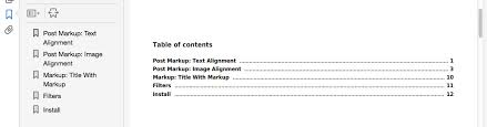 table of contents generator pdf table of contents dk pdf generator