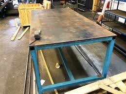 Welders Bench - welders bench without vice on auction now at apex auctions us