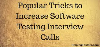 Software Testing Resume Increase Qa Interview Calls How To Build Qa Tester Resume