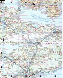 Map Of Nova Scotia Central Nova Scotia
