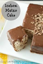 matzos for passover icebox matzo cake recipe living sweet moments