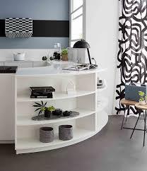 meuble cuisine arrondi meubles arrondis éloge de la courbe en cuisine mobalpa