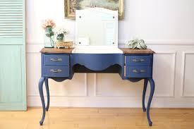 Vintage Desk With Hutch by Vintage French Shabby Chic Vanity Desk Console Table With Flip