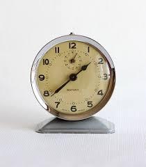 Herman Miller Clock Vintage Large Alarm Clock German Desk Clock By Vintagecorner42