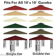 Backyard Canopy Covers 10x10 Gazebo Awnings Canopies U0026 Tents Ebay
