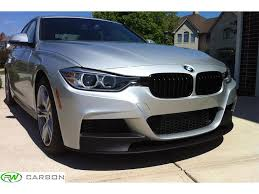 bmw f30 front spoiler bmw f30 f31 m sport performance style front lip spoiler for the