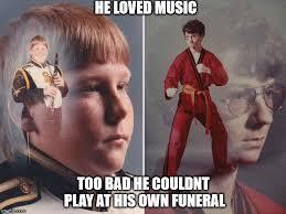 Ptsd Clarinet Boy Meme - image tagged in karate kyle ptsd clarinet boy imgflip