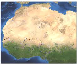 Map West Africa by West Africa Riverwatch