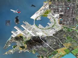 Shenzhen China Map Qianhai Port City