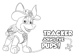 40 unique paw patrol coloring pages