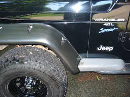 jeep liberty flares faq how do i fix my faded jeep fender flares