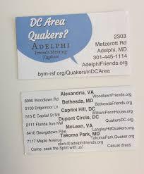 Meeting Invitation Card Invitation Cards Quaker Communications U0026 Outreach