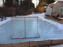 this is the end u2026 of the backyard rink hockey wilderness