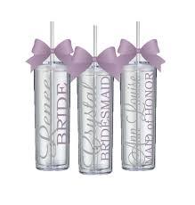 bridesmaid cups single personalized bridesmaid tumbler wedding