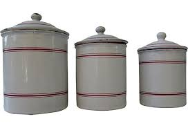 enamel kitchen canisters best 25 canisters ideas on kitchen canisters