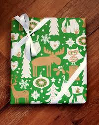 moose wrapping paper children s woodland christmas wrapping paper with owls