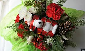 snoopy doghouse christmas decoration gift guide brown christmas gifts from teleflora