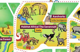 chicago zoo map chicago zoological society habitat africa the