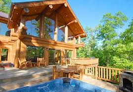 Luxury Cabin Homes Bryson City Cabin Rentals Nc Smoky Mountains Watershed Resort