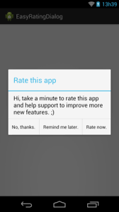 dialog android easy rating dialog android custom views