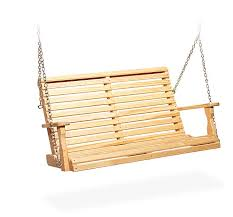 amish pine wood roll back porch swing from dutchcrafters amish