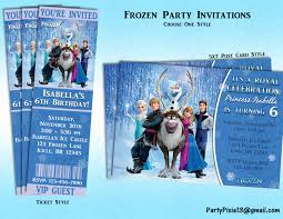 disney frozen party invitations printable theruntime com
