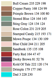 funny paint names an ai just created and named new paint colors and they re hilarious