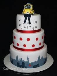 wedding cake nyc new york city skyline wedding cake cakes city