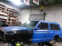 blue jeep 2 door 93 2 door truggy build jeep cherokee forum