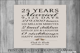 25th anniversary gift ideas 25th wedding anniversary gift ideas for couples evgplc