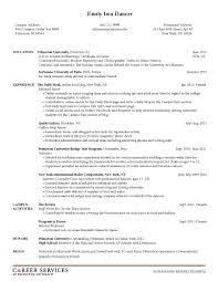 resume builder for college internships sle resume for internship resume badak