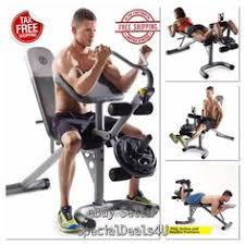 Weider 215 Bench Weight Bench Lift Press Exercise Weights Fitness Workout Gear Home