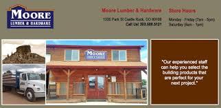 The Barn Castle Rock Colorado Moore Lumber Castle Rock U2013 Lumber And Hardware In Castle Rock